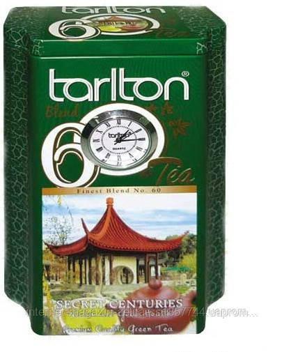 """Зелений чай Тарлтон """"Секрет століть"""" ж\б 200 гр"""