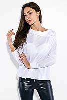 Рубашка женская с пуговицами на плече 69P0944 (Белый)