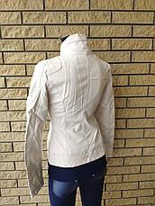 Куртка женская из экокожи OS, фото 3