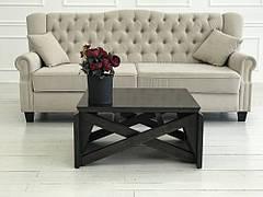 Стол-трансформер деревянный Папа Карло Neman, цвет черный