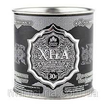 Хна Grand Henna для биотату, окрашивания бровей темный графит с кокосовым маслом, 30 мл