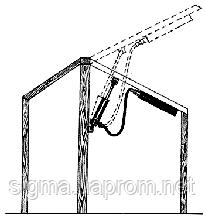 Автомат  для проветривания теплиц, усилие 100кг