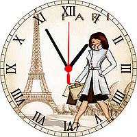 "настенные часы  круглые ""Paris"""