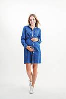 Джинсовое платье-рубашка для беременных 4121749, фото 1