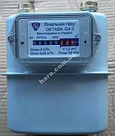 Газовый счетчик мембранный Октава G4