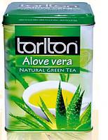 """Чай зеленый Тарлтон """"Алое Вера"""" ж\б 250 гр"""