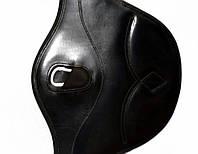 Підпруга конкурная з фартухом шкіряна 125 см, фото 1