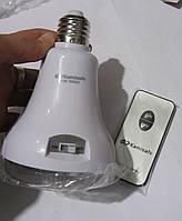 Светодиодная цокольная аккумуляторная лампа Kamisafe KM-5602 21LED с пультом управления, фото 1