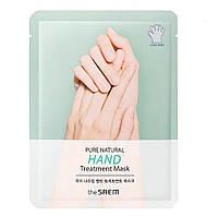 Маска для рук The Saem Pure Natural Hand Treatment Mask 16 мл (8806164159316)