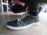 Стильные нубуковые кеды,кроссовки милитари Madoks, фото 5