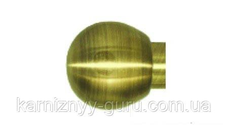 Декоративный наконечник Шар (Болонь)  ø 16мм