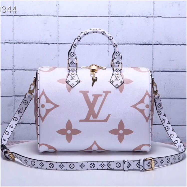 8b56d35e9f1f Сумка Louis Vuitton Луи Витон Speedy Bandouliere 30 см, канва Monogram,  кожаная реплика