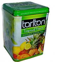 """Чай зеленый Тарлтон """"Тропические Фрукты"""" ж\б 250 гр"""