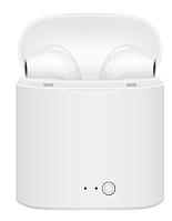 Наушники i7S tws белые Bluetooth гарнитура, фото 1