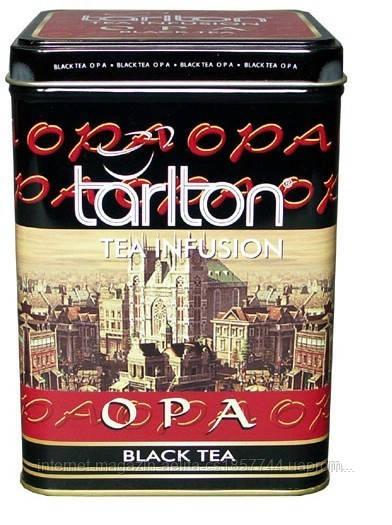 """Чай черный """" Тарлтон ОРА """" ж\б 250 гр"""