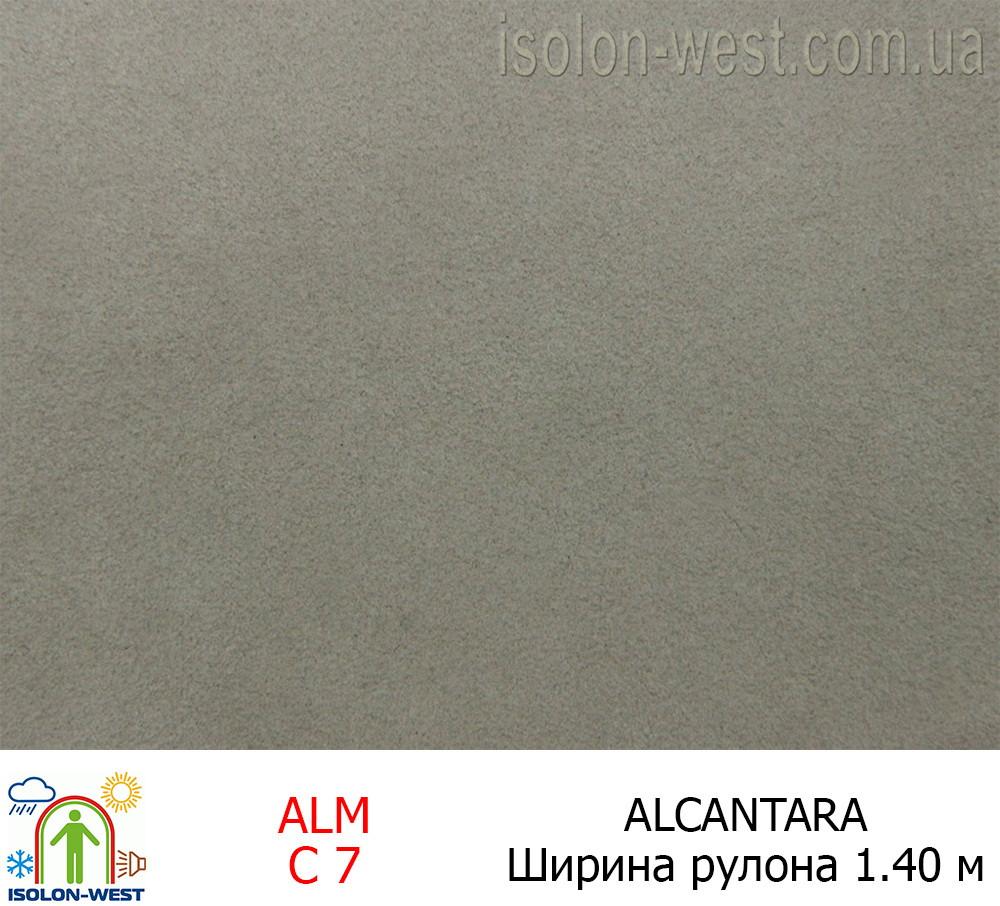 Алькантара серая 03 Италия
