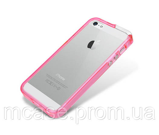 USAMS iPhone5 two in one bumper case РОЗОВЫЙ