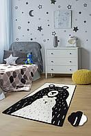 Коврик в детскую комнату Chilai Home Bears Beyaz 100х160см
