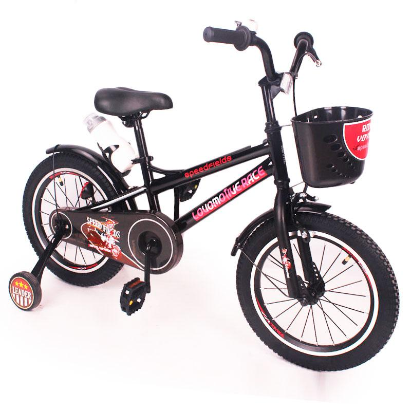 "Детский Велосипед ""ZEBR CROSSING-16"" Black"