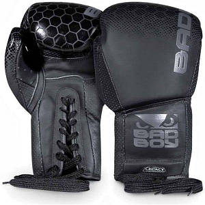 Перчатки боксерские Bad Boy Legacy 2.0 Lace Up Black, код: RX-240034