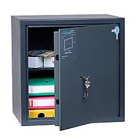 Взломостойкий сейф ПРЕМИУМ OLS-PL-45.К мебельный, офисный для дома, офиса, бухгалтерии Ferocon 45х45х35 см.