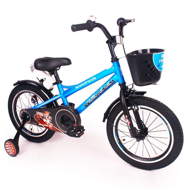 "Дитячий Велосипед ""ZEBR CROSSING-16"" Blue"
