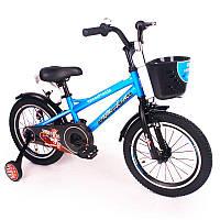 """Детский Велосипед """"ZEBR CROSSING-16"""" Blue"""