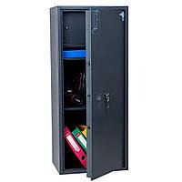 Взломостойкий сейф ПРЕМИУМ OLS-PL-105.К мебельный, офисный для дома, офиса, бухгалтерии Ferocon 45х105х35 см.