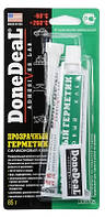 DD6705 Прозрачный силиконовый герметик-клей для стекол, 85 г