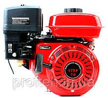 Двигатель бензиновый ТАТА YX170F (7 л.с., шлицы Ø25мм, L=39мм)