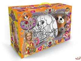"""Набор """"ROYAL PET'S"""", сумочка-раскраска + игрушка """"Собачка"""" RP-01-03U"""