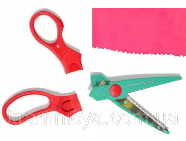 набор фигурных ножниц 8 шт. для скраббукинга