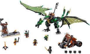 Конструктор Bela 10526 NINJA Зеленый дракон 603 детали (tsi_31442)
