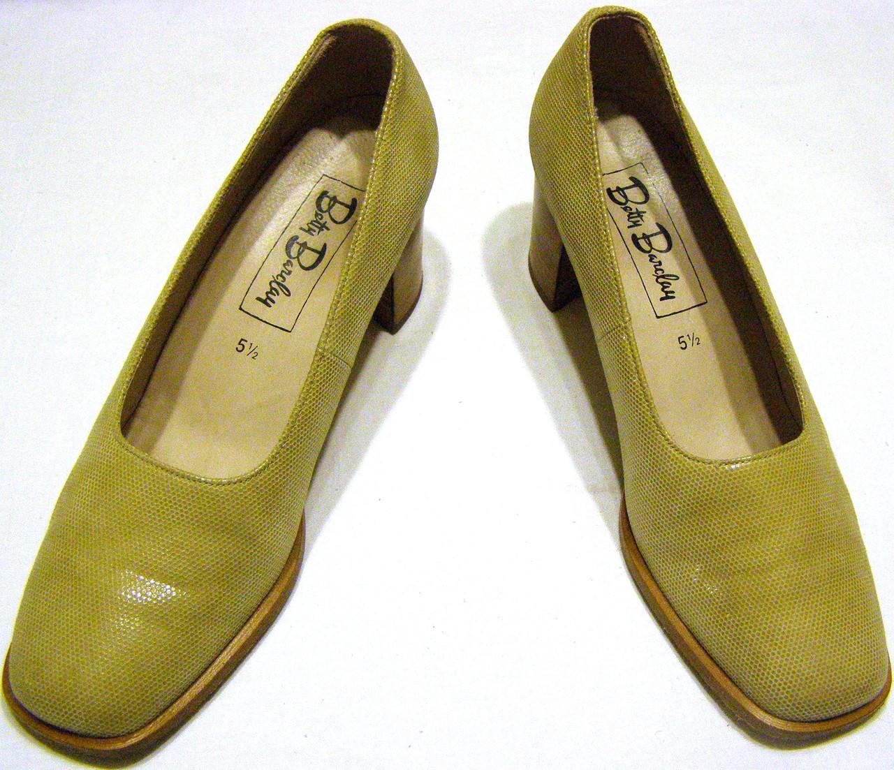 Туфли женские бежевые Betty Baralay