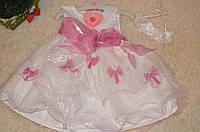 Торжественное  платье  для девочек 3-23 месяца