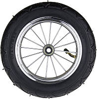"""Pneumatic Chrome Wheel 10"""" Bearings - Надувное Колесо с подшипниками для прогулочных детских колясок"""