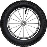 """Pneumatic Chrome Wheel 12"""" Bearings - Надувное Колесо с подшипниками для прогулочных детских колясок"""