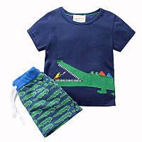 Костюм 2 в 1 для мальчика Крокодил Jumping Beans (6 лет)