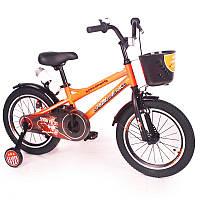 """Детский Велосипед """"ZEBR CROSSING-16"""" Orange"""