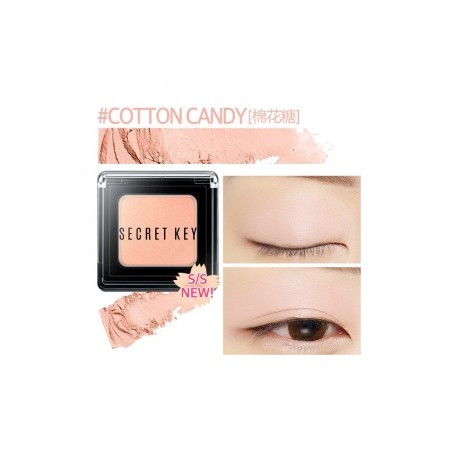 Cтойкие тени для век  3,8 грамм Secret Key Fitting Forever Single Shadow(097-Light pink)