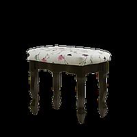 Банкетка обычная цвет темный орех ткань №6