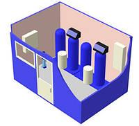 Водоподготовительное оборудование контейнерного типа БВПУ