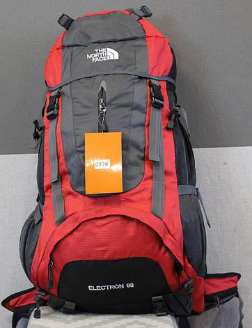 Туристический рюкзак North Face Extreme 60 литров (красный), фото 2
