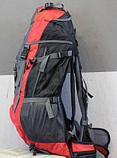 Туристический рюкзак North Face Extreme 60 литров (красный), фото 3