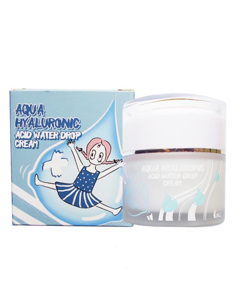 Крем для лица увлажняющий Гиалуроновый Elizavecca Aqua Hyaluronic Acid Water Drop Cream, 50 ml