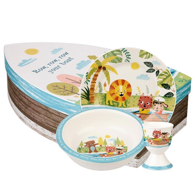 Набор детской посуды фарфоровый Churchill Little Rhymes 3 предмета ROWB00021