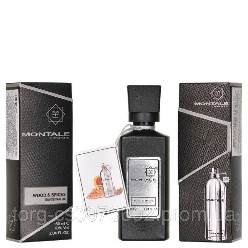 Мини-парфюм унисекс 60 мл. Montale Wood & Spices