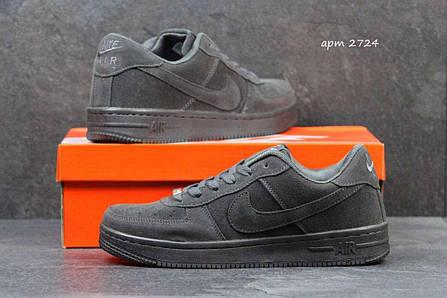 437ff0ac Мужские кроссовки Nike Air Force серые 2724 купить в интернет ...