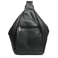 Рюкзак городской кожаный Always Wild 776-NDM Black, фото 1