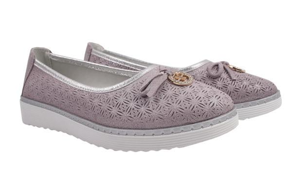 Туфли комфорт Li Fexpert натуральный сатин, цвет фиолетовый